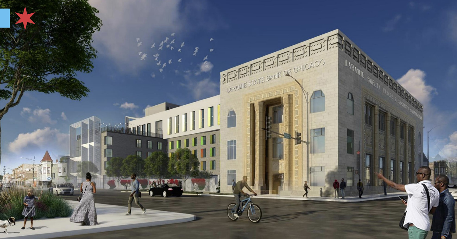 5200 W Chicago Avenue. Rendering by VDT and Latent Design