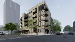 5354 N Sheridan Road. Rendering by 2RZ Architecture