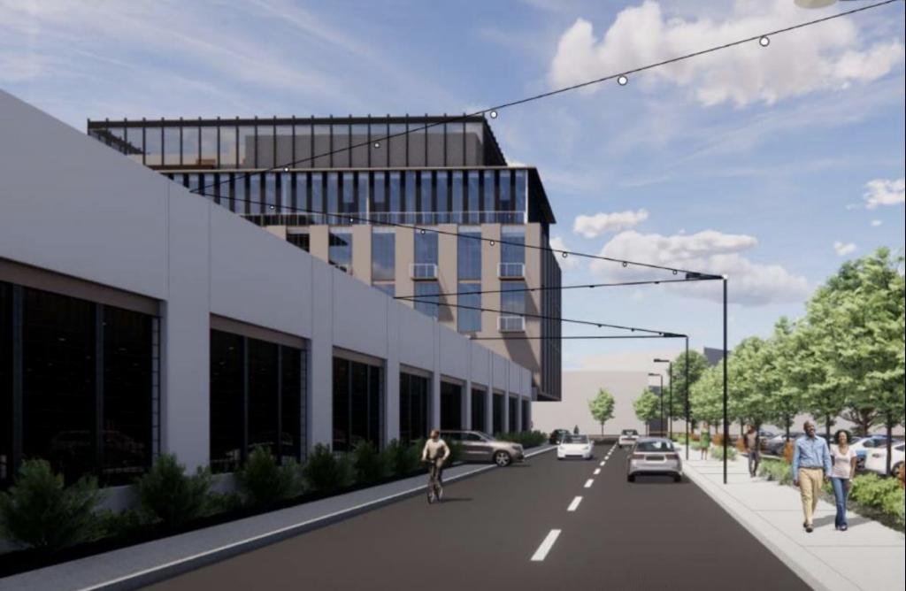 Rendering of Cuyler Avenue Redevelopment
