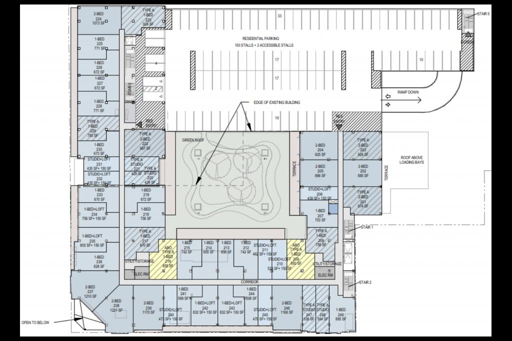 7412 W Irving Park Road Second Floor Plan