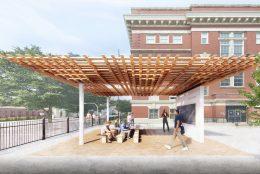 SPLAM Timber Pavilion