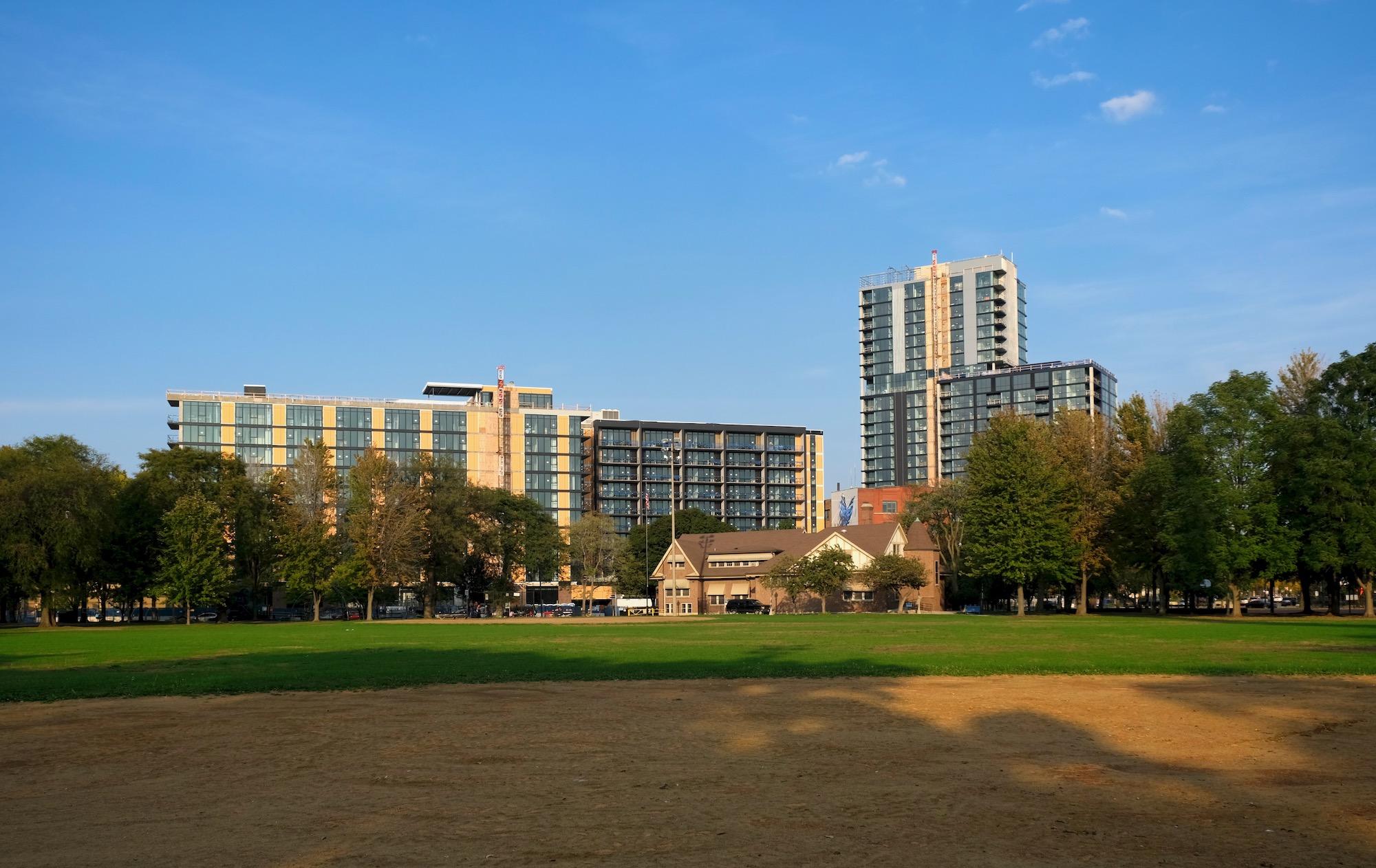 Evo Union Park (left) and Parq Fulton (right)